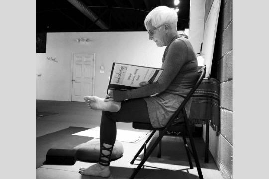 Sue Hopkins Etowah Valley Yoga Instructor